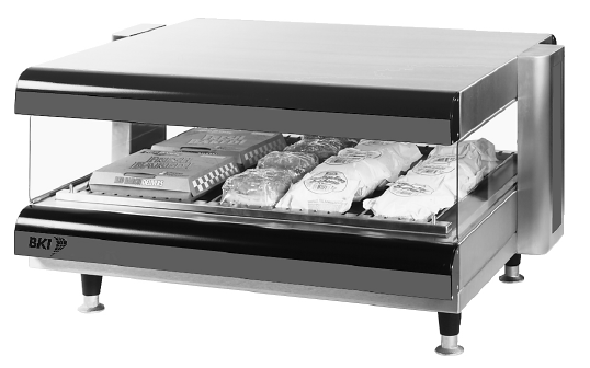 CDM Series Hot Food Merchandiser