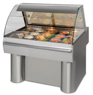 HD 3 SELF Heated Merchandiser