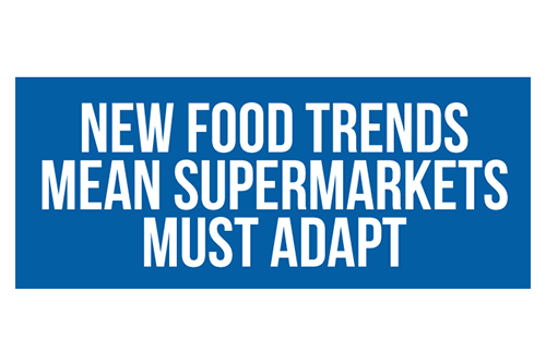 Recent Food Trends Show Next Steps for Supermarkets' Strategies [Infographic]